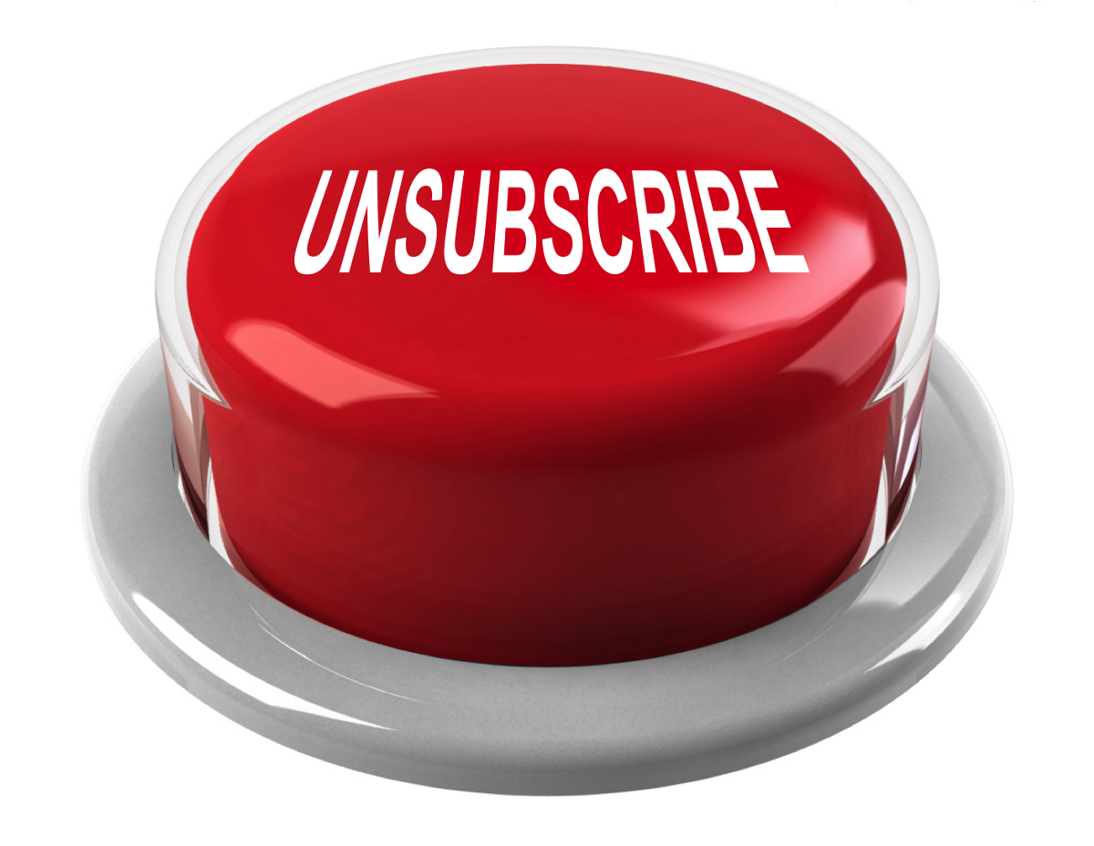 MINDSET SHIFT: Why you should love unsubscribes